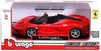 "Модель машины ""Bburago. Ferrari LaFerrari Aperta"" (масштаб: 1/24)"