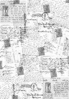 """Пленка-оверлей """"Почтовые открытки"""" (210х300 мм)"""