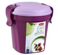 """Контейнер для еды """"Lunch&Go"""" (0,4 л; фиолетовый)"""