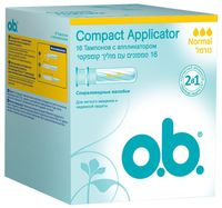 "Тампоны ""Compact Applicator. Normal"" (16 шт.)"