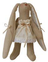 """Набор для шитья из ткани """"Зайка в бежевом платье"""""""