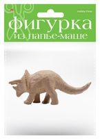 "Заготовка из папье-маше ""Динозавр. Трицератопс"" (50х175х75 мм)"