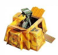 """Сборная модель из картона """"Станция наблюдения"""""""
