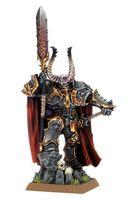"""Миниатюра """"Warhammer FB. Chaos Lord"""" (83-21)"""