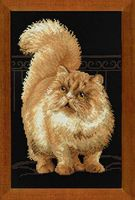 """Вышивка крестом """"Персидский кот"""" (арт. 1152)"""