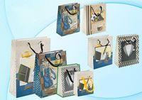 """Пакет бумажный подарочный """"Мужская тематика"""" (в ассортименте; 32x44x12 см; арт. МС-3010)"""