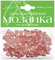 Мозаика декоративная из керамики №29 (8х8 мм; 100 шт.; розовый)