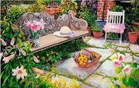 """Пазл """"Пейзаж. Цветущий сад"""" (160 элементов)"""