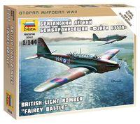 """Британский легкий бомбардировщик """"Фэйри Бэттл"""" (масштаб: 1/144)"""