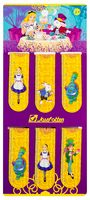 Набор закладок-маркеров с магнитами. Алиса (6 шт; арт. 60001)