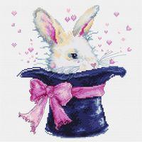 """Вышивка крестом """"Кролик"""" (185х205 мм)"""
