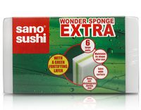 """Губка для уборки универсальная """"Wonder Sponge"""" (6 шт.)"""