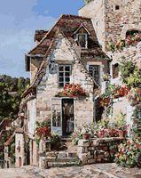 "Картина по номерам ""Франция. Рокамадур"" (400х500 мм)"