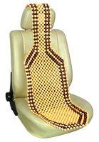 Накидка на сиденье массажная (бежевая; арт. AV-010052)
