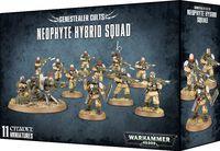 Warhammer 40.000. Genestealer Cults. Neophyte Hybrid Squad (51-57)