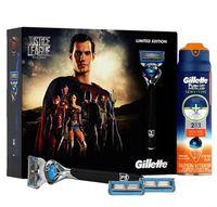 """Подарочный набор """"Fusion Proshield Chill"""" (станок для бритья, 3 сменные кассеты, гель для бритья)"""