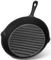 Сковорода-гриль чугунная, 26 см (арт. 4068)
