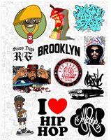 """Набор виниловых наклеек №62 """"Hip hop"""""""