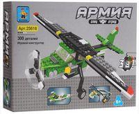 """Конструктор """"Армия. Авиатехника"""" (300 деталей)"""