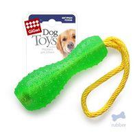 """Игрушка для собак """"Гантеля на веревке"""" (30 см)"""