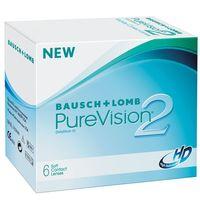 """Контактные линзы """"Pure Vision 2 HD"""" (1 линза; +5,5 дптр)"""
