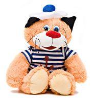 """Мягкая игрушка """"Кот усатый моряк"""" (25 см)"""