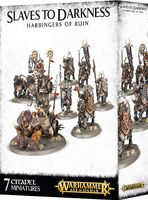 Warhammer Age of Sigmar. Slaves to Darkness. Harbingers of Ruin (83-79)