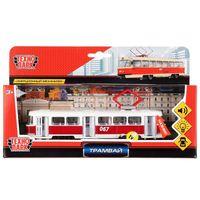 """Модель машины """"Трамвай"""" (арт. CT12-463-2-OR-WB)"""