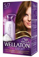 "Краска-мусс для волос ""Wellaton"" (тон: 5/7, бриллиантовый шатен)"