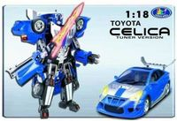 "Робот-трансформер ""Тойота Селика"" (масштаб 1/18)"
