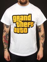 "Футболка ""GTA - Logo""  (размер - S)"