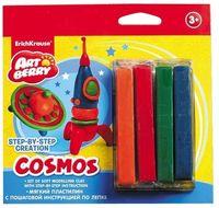 "Пластилин ""Cosmos. Step-by-step Сreation"" (4 цвета)"