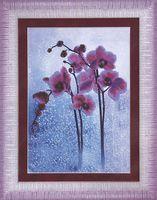 """Вышивка бисером """"Дикая орхидея"""" (210х300 мм)"""