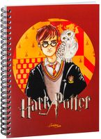 "Блокнот в клетку ""Гарри Поттер"" (А5; арт. 1258)"