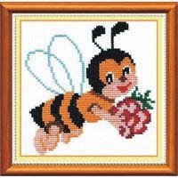 """Вышивка крестом """"Пчелка"""" (арт. НВ- 08)"""