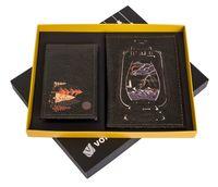 "Подарочный набор ""Лампа"" (обложка на паспорт и кредитница)"