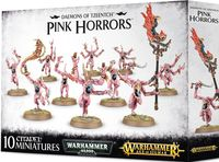 Warhammer Age of Sigmar. Daemons of Tzeentch. Pink Horrors (97-12)