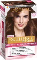"""Крем-краска для волос """"Excellence Creme"""" тон: 5.02, обольстительный каштан"""
