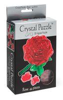 """Пазл-головоломка """"Crystal Puzzle. Красная роза"""" (44 элемента)"""