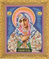"""Вышивка бисером """"Пресвятая Богородица Умиление"""" (арт. 7336)"""