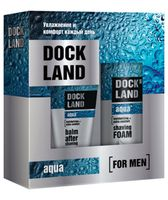 """Подарочный набор """"Dockland Aqua"""" (пена, бальзам)"""