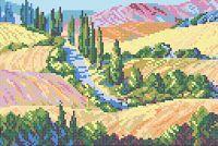"""Вышивка бисером """"Чудная долина"""""""