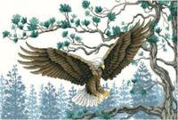"Канва с нанесенным рисунком ""Орел"" (арт. А-1423)"