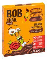 """Конфеты фруктовые """"Bob Snail. Манго в молочном бельгийском шоколаде"""" (60 г)"""