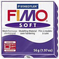 """Глина полимерная """"FIMO Soft"""" (сливовый; 56 г)"""