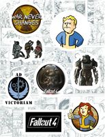 "Набор виниловых наклеек №118 ""Fallout"""