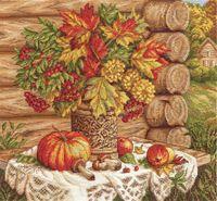 """Вышивка крестом """"Осенний натюрморт"""""""