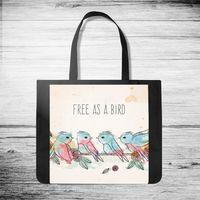 """Сумка-шоппер """"Free as a bird"""""""