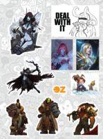 """Набор наклеек """"Warcraft"""""""
