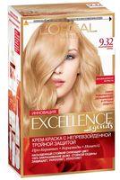 """Крем-краска для волос """"Excellence"""" (тон: 9.32, cенсационный блонд)"""